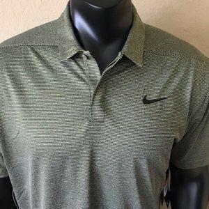 NIKE Golf Dri Fit Polo Shirt Swoosh